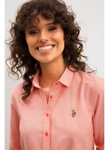 U.S. Polo Assn. U.S. Polo Assn. Pembe Gömlek Pembe
